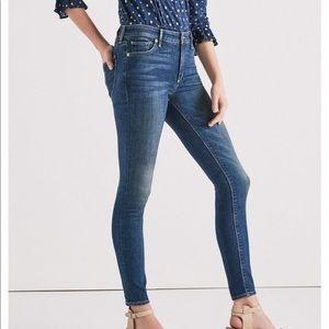 Lucky Brand Dark Blue Jeans Bridgette Skinny